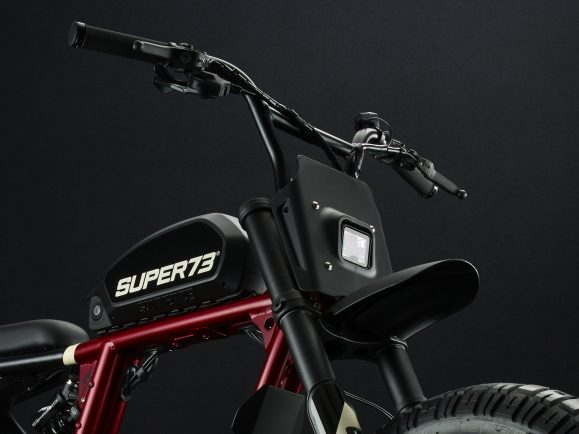 Super 73 Carmine Red