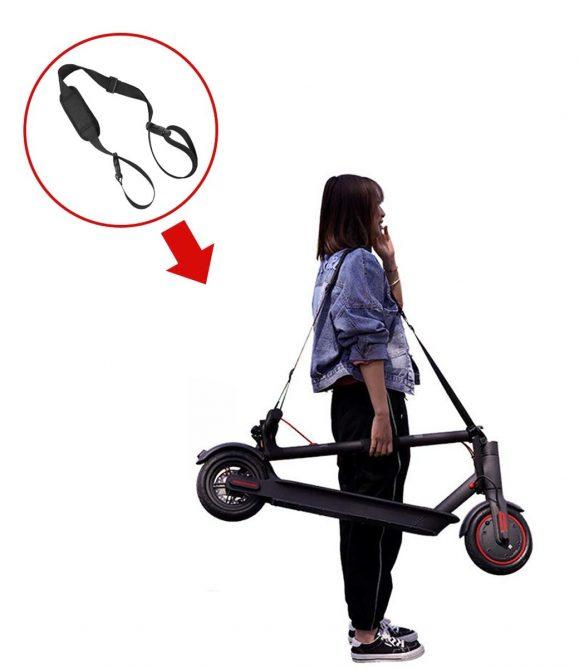 Elektrische step schouderband