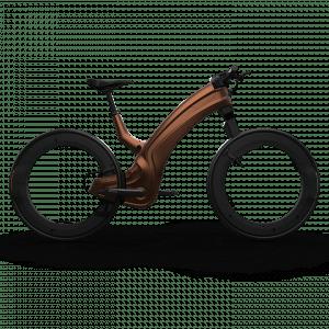 Reevo e-bike saddle brown bruin