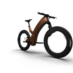 reevo e-bike png brown