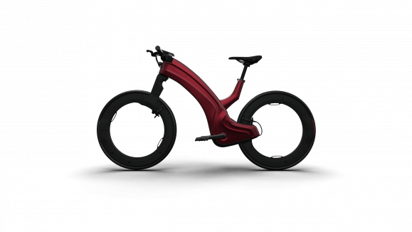 Reevo e-bike red